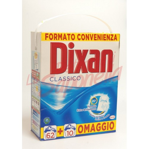 Detergent Dixan pulbere clasic 5,760 kg. - 72 spalari