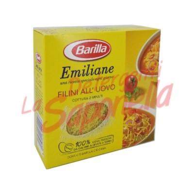 """Paste Barilla Emiliane """"Filini"""" Nr. 014 cu ou 250 gr"""