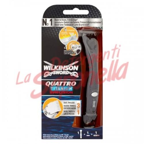 Aparat de ras electric Quattro Titanium Precision Wilkinson