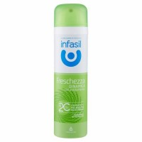 Antiperspirant spray antibacterian Infasil Freschezza Dinamica 150ml