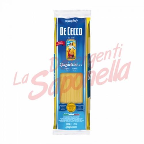 """Paste De Cecco """"Spaghettini"""" Nr.11-500 gr"""