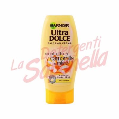 Balsam de par Garnier Ultra Dolce-par deschis cu musetel si miere 200 ml