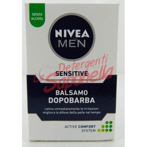 Balsam dupa ras Nivea Men pentru barbati  fara alcool Senzitiv 100 ml
