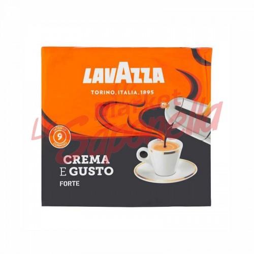 Cafea Lavazza crema si gust puternic 2 x 250 gr