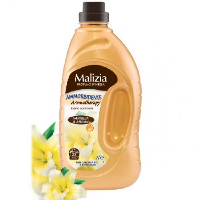 Balsam de rufe Malizia cu vanilie si argan 25 spalari 2L