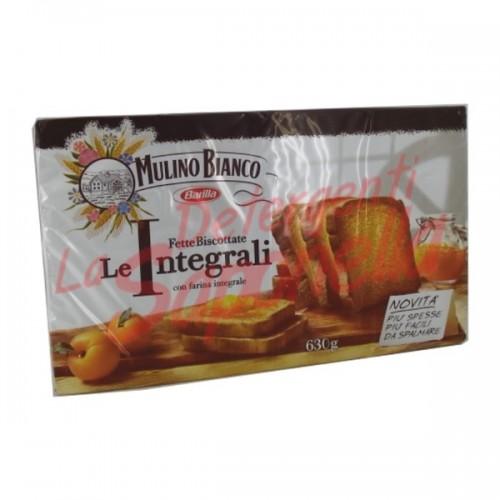 "Paine prajita Mulino Bianco ""Le Integrali"" cu faina integrala 630 gr- 72 bucati"