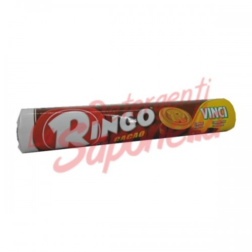 Biscuiti Ringo umpluti cu crema de cacao 165 gr
