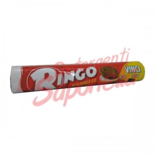 Biscuiti Ringo umpluti cu crema de vanilie 165 gr