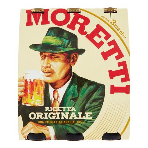 Bere originala Moretti 3*33cl