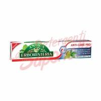 Pasta de dinti Antica Erboristeria anti-carie cu bi-fluor activ si cimbru 75 ml