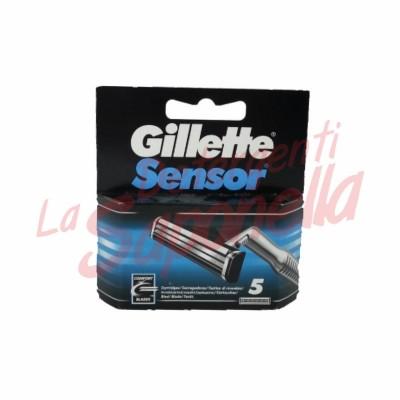 Rezerve aparate de ras Gillette Sensor- 5 bucati