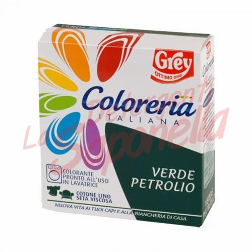 Colorant tesaturi Grey gata de utilizare in masina de spalat-turcoaz-100 g + 75 ml