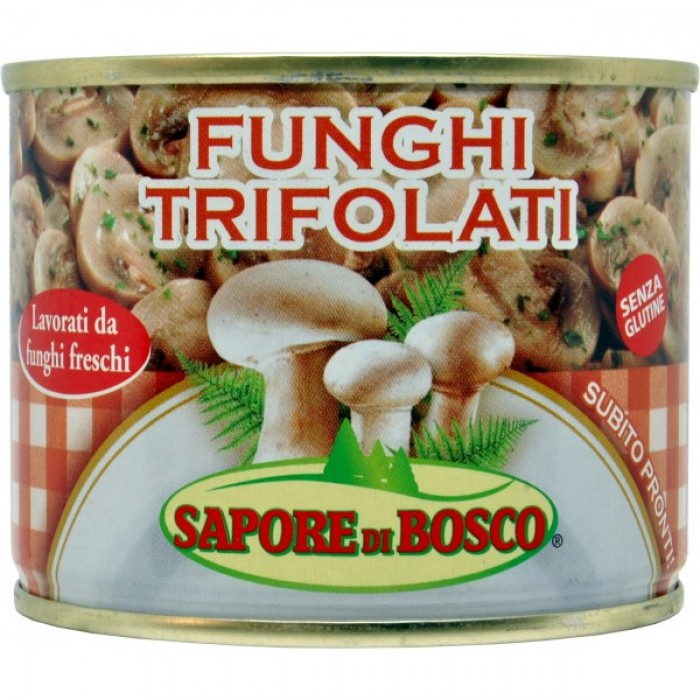 Ciuperci trifoliate Nova  fara gluten 180g