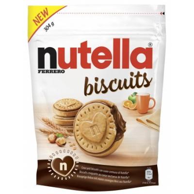 Biscuiti Nutella Ferrero 304 gr