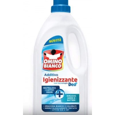 Aditiv lichid igienizant Omino Bianco 900 ml