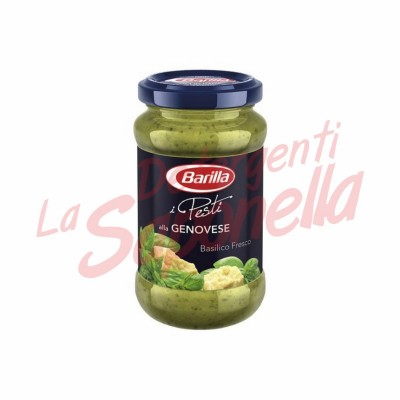 "Sos paste Barilla ""I Pesti alla Genovese"" cu busuioc proaspat 190 gr"