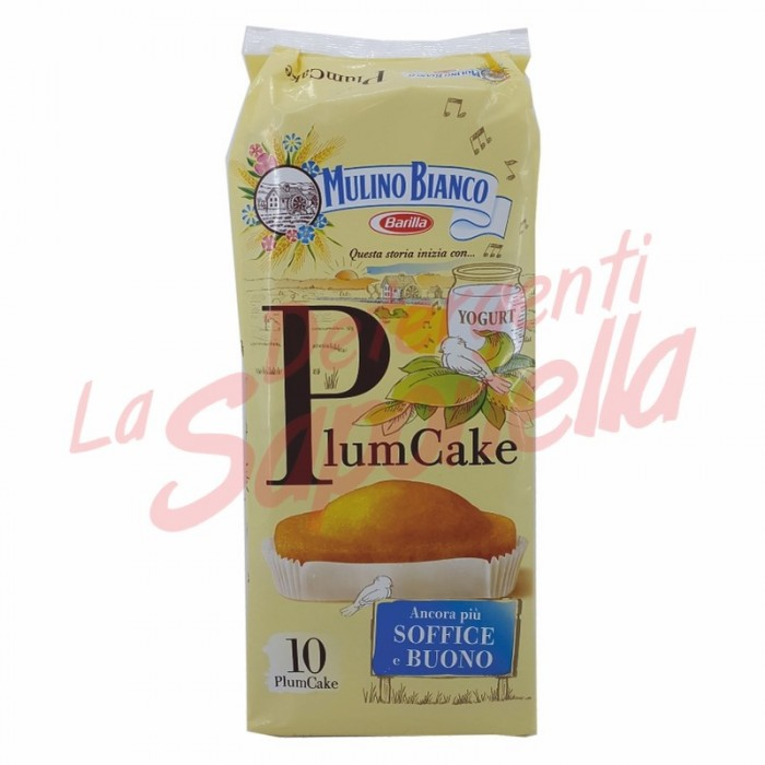 "Briose Mulino Bianco ""Plumcake"" simple 330 gr-10 bucati"