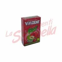 Guma de mestecat Vivident capsuni cu umplutura de lime 30 gr