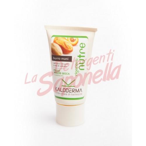 Crema de maini Kaloderma cu unt de shea si ulei de avocado 75 ml