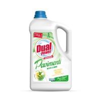 Detergent profesional Dual Power pentru pardoseli cu aroma menta si lamaie 5 L