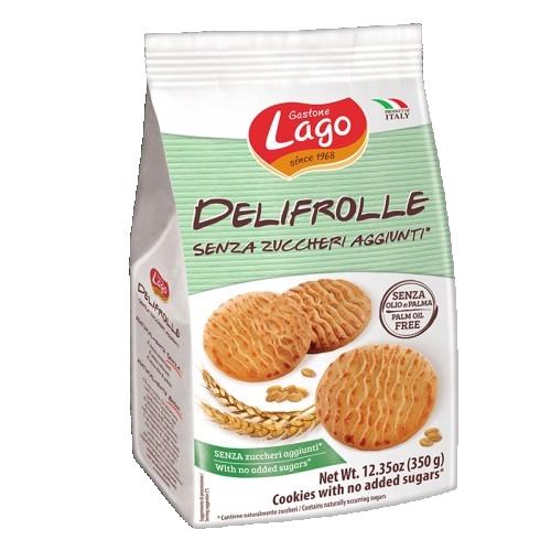 Biscuiti fara zahar adaugat Gastone Lago Delifrolle 350gr