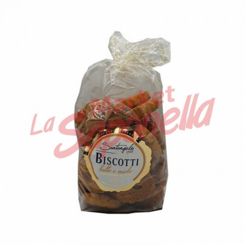 Biscuiti cu lapte si miere Santangelo – 400 g