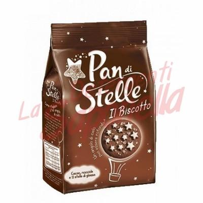 Biscuiti Pan di Stelle cu cacao si alune 350 gr