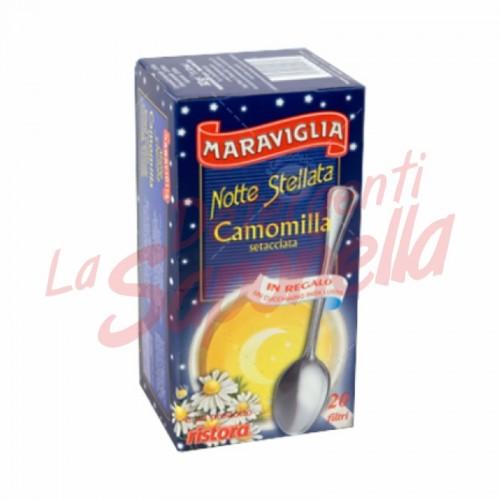 Ceai musetel Maraviglia pliculete-20 buc-32 gr