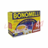 Ceai musetel Bonomelli solubil pliculete-20 buc-100 gr