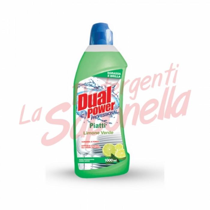 Detergent vase Dual Power Profesional-lamaie verde 1000 ml