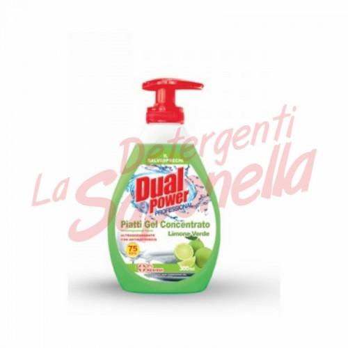 Detergent vase Dual Power Profesional-lamaie verde 300 ml