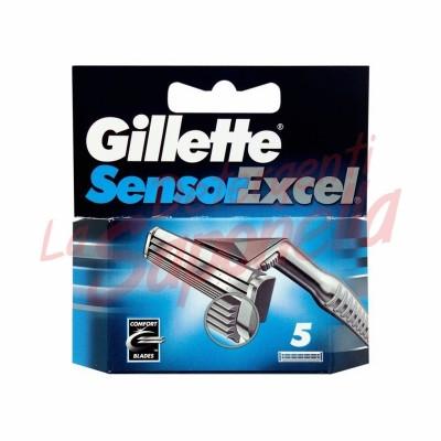 Rezerve aparate de ras Gillette Sensor Excel- 5 bucati