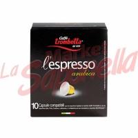 Cafea Trombetta capsule pentru espressor-arabica 55 gr-10 bucati