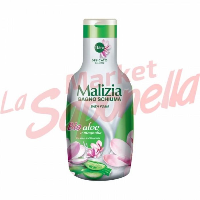 Spuma de baie Malizia cu aloe si magnolie 1000 ml
