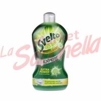 Detergent de vase Svelto concentrat cu lamaie verde 450 ml