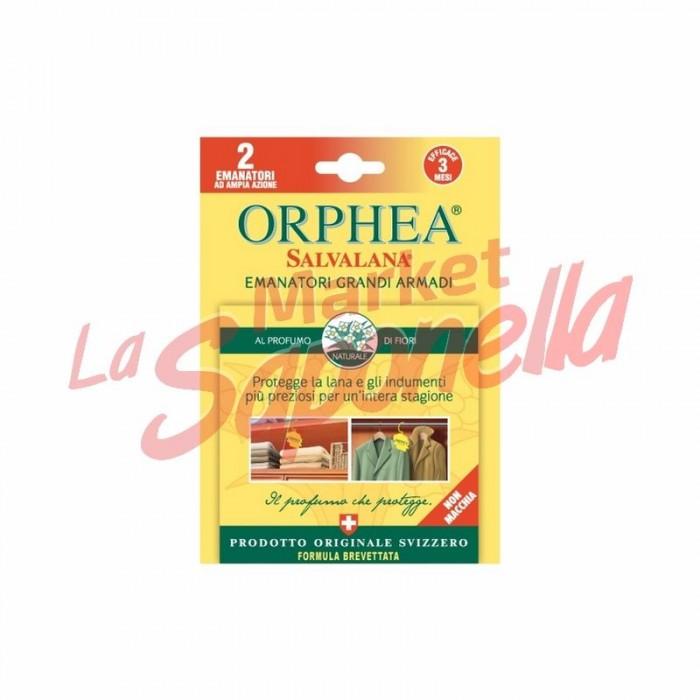 Emanator Orphea pentru dulapuri mari-parfum de flori-2 buc
