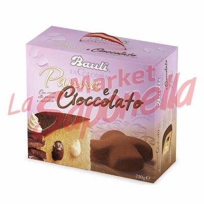 Bauli Colomba cu smantana si ciocolata-750g
