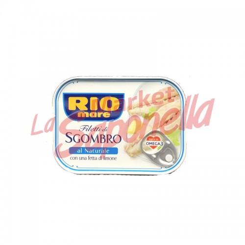 File de macrou Rio Mare in saramua cu lamaie 135 gr