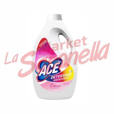 Detergent lichid igienizant Ace-haine colorate 1,300 L -20 spalari