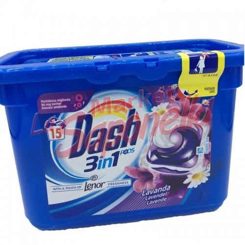 Detergent Dash pernute 3 in 1 lavanda-15 spalari
