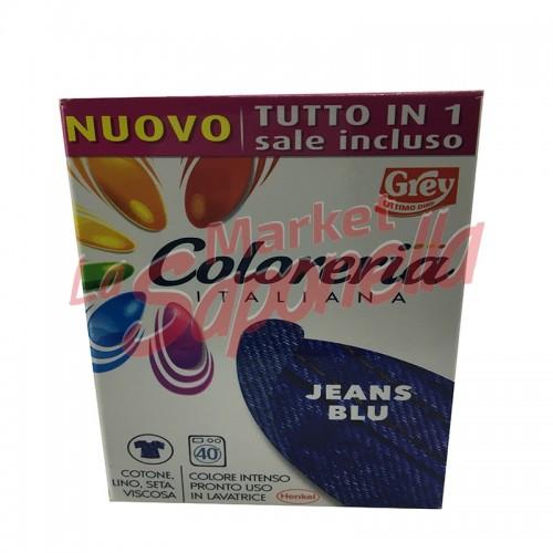 Colorant blugi Grey gata de utilizare in masina de spalat-albastru 350 gr