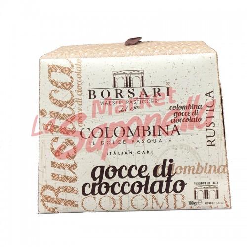 Colombina Borsari-bucati de ciocolata  100 gr