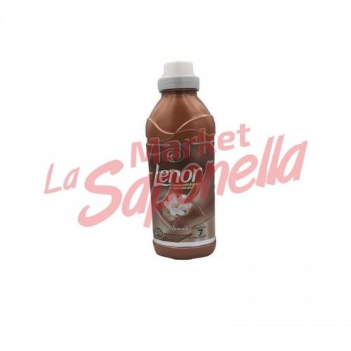 Balsam de rufe Lenor cu chihlimbar si flori de gardenie 650 ml-26 spalari