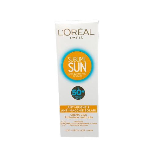 Crema solara pentru fata L'oreal Sublime Sun SPF 50-75 ml