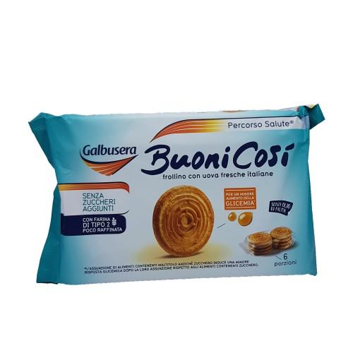 """Biscuiti Galbusera """"Buoni Cosi"""" fara zahar adaugat 330 gr"""