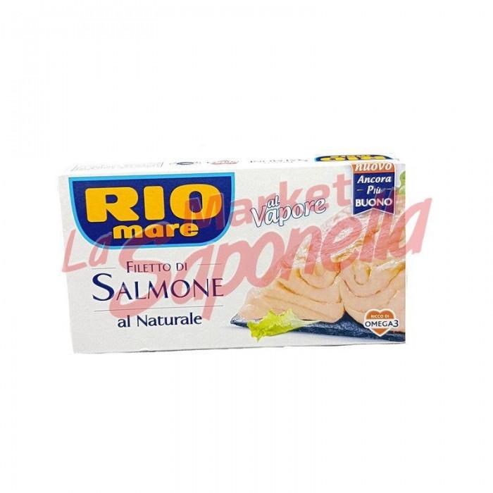 Fileuri somon Rio Mare in saramura 125 gr