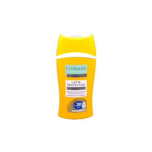 Lapte solar Clinians anti-imbatranire SPF 30-200 ml