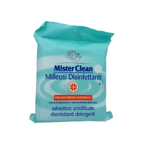 Servetele umede Mister Clean multiple utilizari dezinfectante - 20 bucati