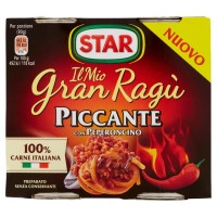 Sos paste Ragu picant cu ardei iute Star fara gluten 2x180g