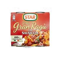 Sos Star Gran Ragu pentru paste cu carnati fara gluten 2 x 180gr